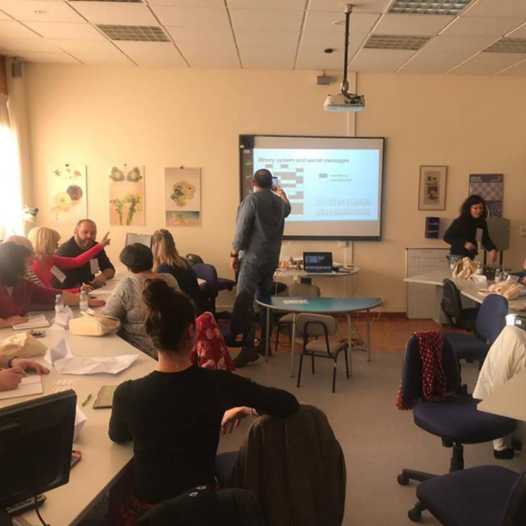 European teachers training course on tangible programming