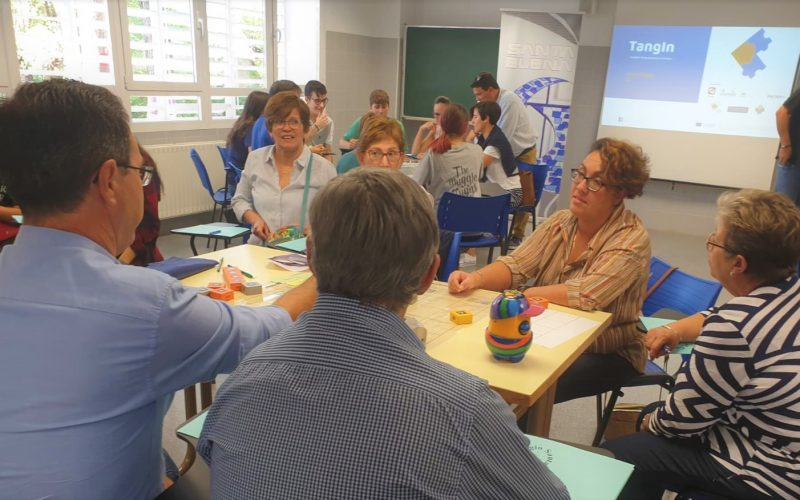 TangIn results were presented to Spanish teachers